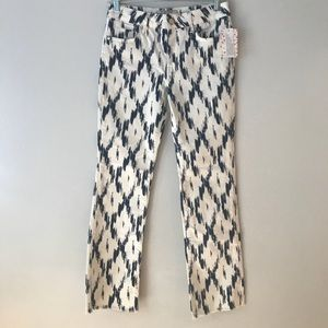 NWT Free People Indigo Skies Crop Jeans